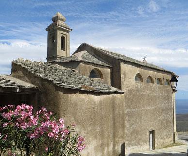 Ersa  (Botticella)-chapelle Saint-Jean-Baptiste (18e s.)