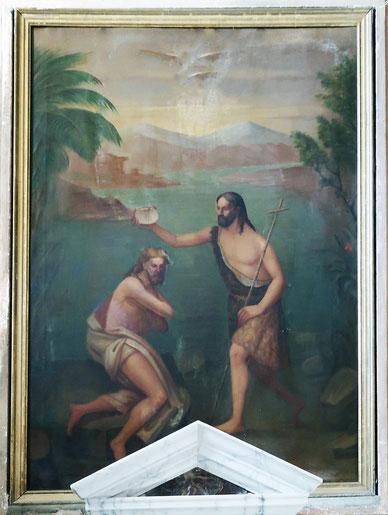 Poggio d'Oletta - Baptême du Christ - A VARESE 1882