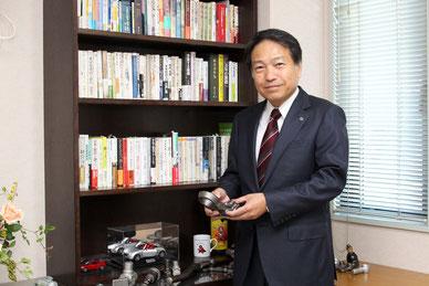 株式会社大智鍛造所 代表取締役社長 大智靖志様のお写真