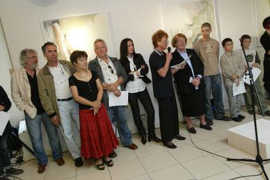 Photographie Vernisssage Septembre 2013 - Galerie Poulet de Gruissan