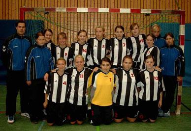 Weibliche B-Jugend auf Platz 4.