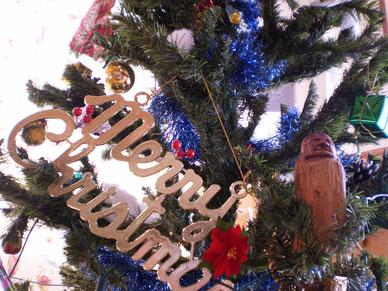 施設内にもクリスマスの雰囲気が漂ってきました。