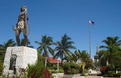 Mactan Shrine, Mactan, Cebu (Creative Commons Photo,  Courtesy of Carl Frances Morano Diaman on Wikipedia)