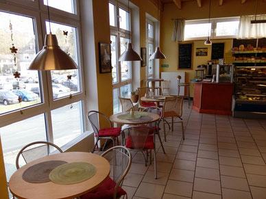 Café für Bio-Mittagstisch bei Naturkost Schwarz in Wetzlar