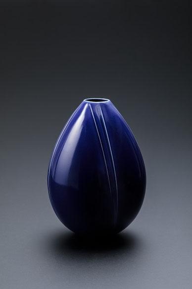 瑠璃釉壺 d16.5Xh22.5  (2018)