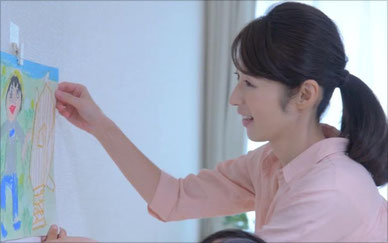【プロモーションビデオ】コマンド™ フック壁紙用 <壁いっぱいに愛を飾ろう>