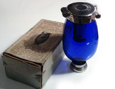 Originalverpackung Blauer Heinrich