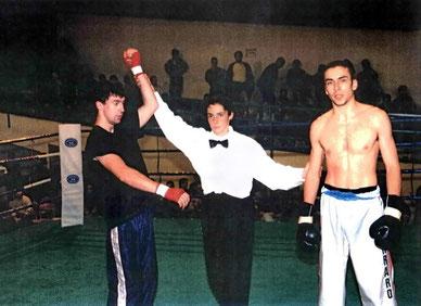 Roberto Campione Italiano Professionisti WKA / ISKA - Saluzzo 1993