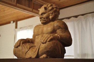 木彫り 鬼
