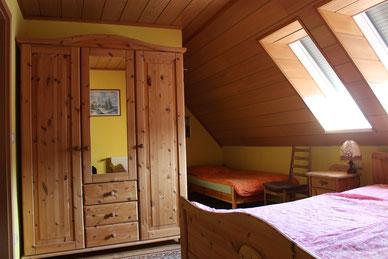 Schlafzimmer - Unterkunft - Fewo - Göda - Panschwitz Kuckau