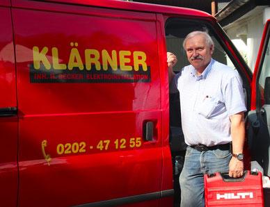 Harald Becker / Chef von Elektro Klärner