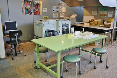 印刷スペース&作業スペース
