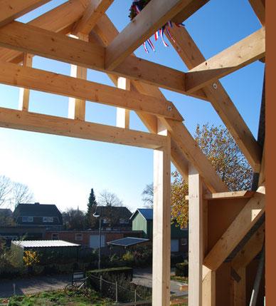 Holz- und Dachbau Holzständerwerk Dachgauben