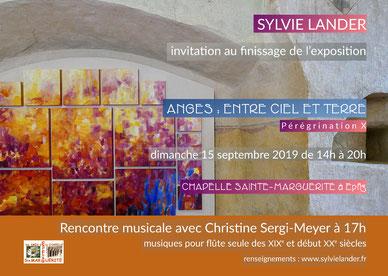 Sylvie Lander-peinture-exposition-couleurs-jardin