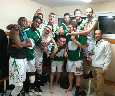 L'équipe fanion conserve sa 2nde place grâce à cette large victoire !