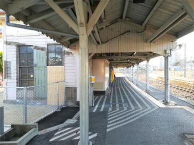 JR西日本 桜井線 京終駅ホーム
