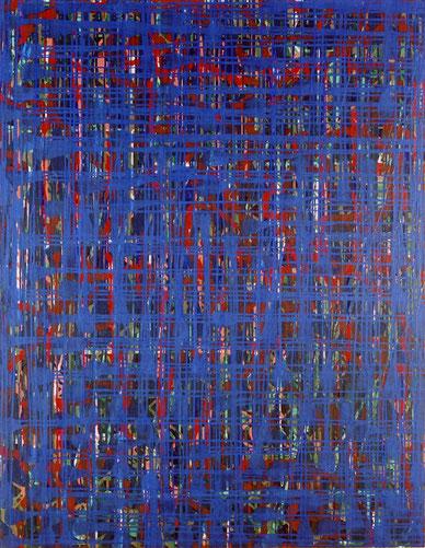 水場P.9      キャンバスに油彩   145.5×112cm