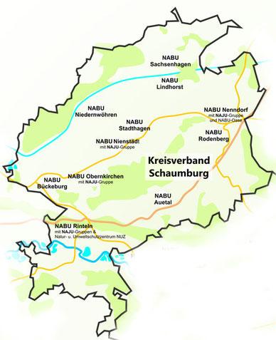 NABU Kreisverband Schaumburg - Grafik: Britta Raabe