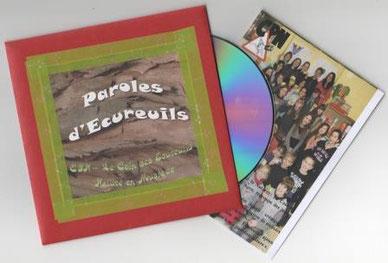 CD paroles d'écureuils (inclus les paroles des chansons et la vidéo du club!)
