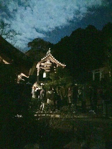 茨木市大念寺 大晦日除夜の鐘