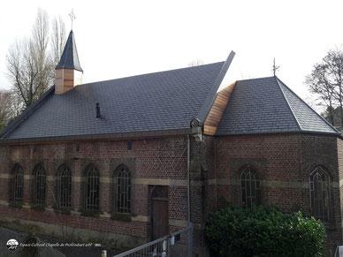 septembre 2020, la chapelle  est  recoiffée