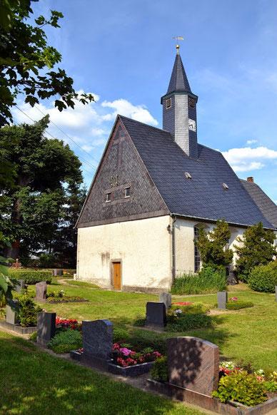 Bild: Seeligstadt Sachsen Dorfkirche 2014