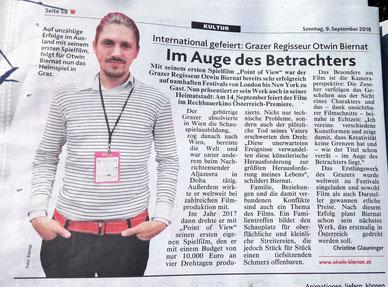 Otwin Biernat, Kronen Zeitung