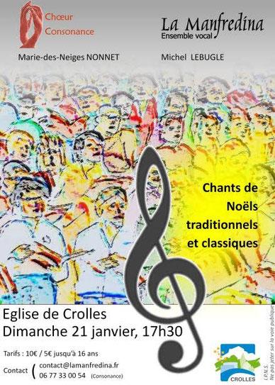 Consonance chante Noël à l'église de Pontcharra - samedi 16 décembre 2017