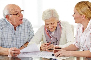 persönliche Beratung bei Auswahl und Anwendung von Hilfsmitteln und Pflegeprodukten