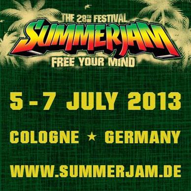 summerjam festival Koln 2013