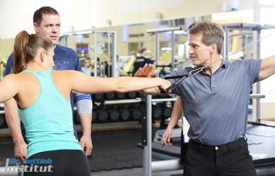 Ausbildungen und Lehrgänge des Dr. Gottlob Instituts für Personal Trainer, Physiotherapeuten, Fitnesstrainer, Ärzte und Leistungssportler