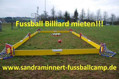 Fussball Billiard mieten Eventmodule Verleih Torwand Hüpfburg Tischkicker Spielgeräte mieten Fussballmodule Fussballgolf Frankfurt
