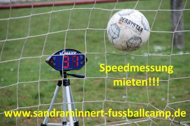 Speedmessung mieten Schussgeschwindigkeitsmessung Speedcheck Radargerät Eventmodule Verleih Frankfurt Oberursel Fussball EM 2016
