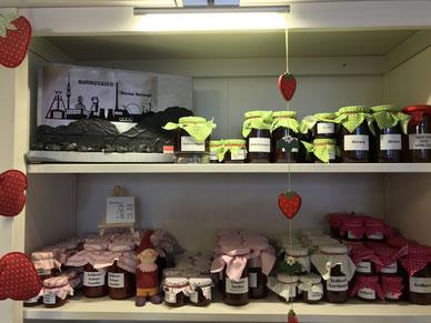 Marmeladen und Fruchtaufstriche