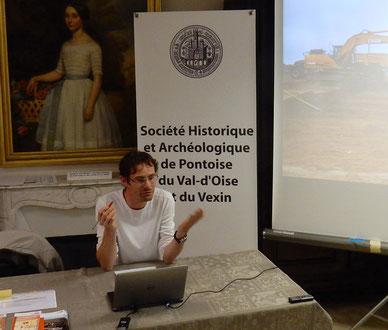 Aurélien Lefeuvre, archéologue