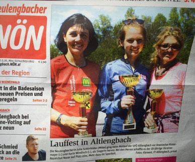 NÖN Titelblatt in Neulengbach