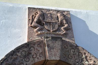 Bild: Wünschendorf Erzgebirge Rittergut Steinportal