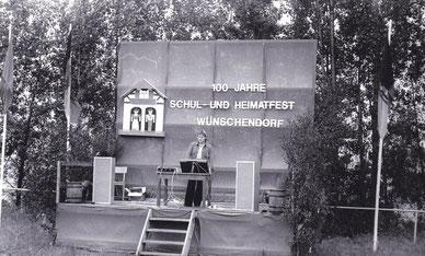 Bild: Teichler Wünschendorf Erzgebirge Schul und Heimatfest 1977