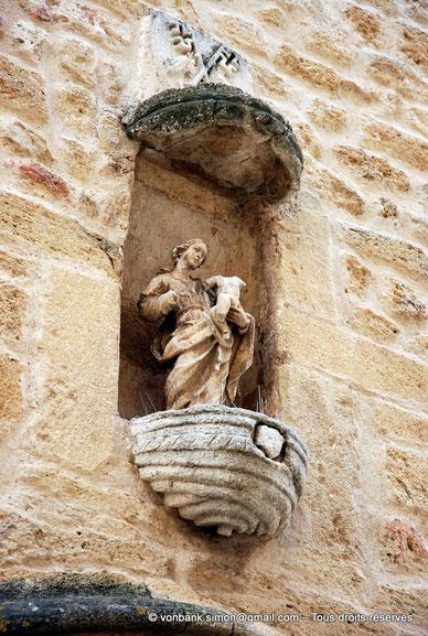 Vierge à l'enfant XVII° (Eglise Notre-Dame-de-Beauvezer 13140 Miramas le vieux) France