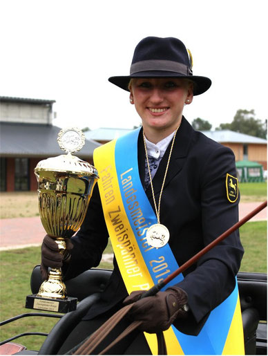Viviane Quarch Landesmeisterin 2013