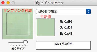 #5 カラーメーターの測定結果