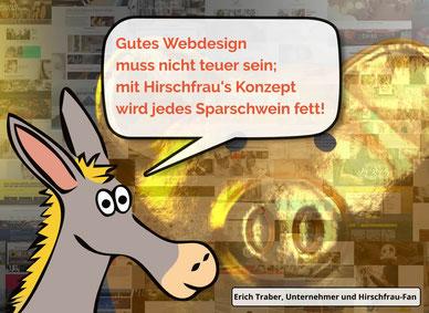 Webdesign Kosten (gutes Webdesign muss nicht teuer sein)