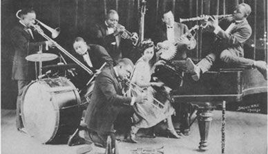 King Oliver´s Jazz Band ca. 1923