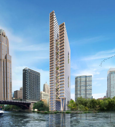 River Beech Tower (Chicago) [Bild: Perkins+Will]