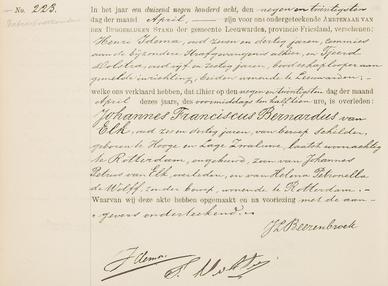 Overlijdensregister 1908, Bijzondere Strafgevangenis van Leeuwarden