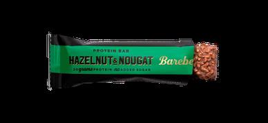 Zuckerfreier Bareballs Protein bar Hazelnut & Nougat