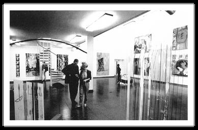 Ausstellung Exchanges in der Polytechnic Gallery Leeds GB_1990_10 Jahres Katalog Künstlerhaus Dortmund_copyright Jürgen Spiler