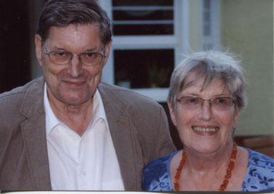 Von links: Barbara  und Arne Witting