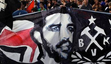 Den af fascister myrdede rapmusiker Pavlos Fyssas