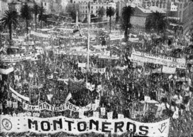 Det venstreradikale Montoneros-bevægelse, d. 1. maj 1974 i Buenos Aires